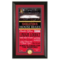 NHL Ottawa Senators House Rules Photo Mint