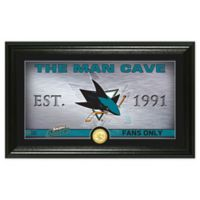 NHL San Jose Sharks Man Cave Photo Mint