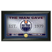 NHL Edmonton Oilers Man Cave Photo Mint