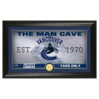 NHL Vancouver Canucks Man Cave Photo Mint