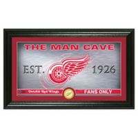 NHL Detroit Red Wings Man Cave Photo Mint
