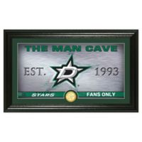 NHL Dallas Stars Man Cave Photo Mint