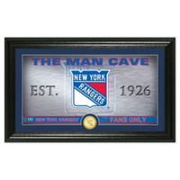NHL New York Rangers Man Cave Photo Mint