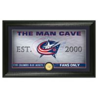 NHL Columbus Blue Jackets Man Cave Photo Mint