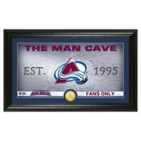 NHL Colorado Avalance Man Cave Photo Mint