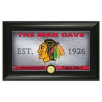 NHL Chicago Blackhawks Man Cave Photo Mint