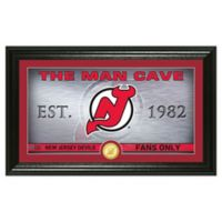 NHL New Jersey Devils Man Cave Photo Mint