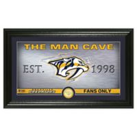 NHL Nashville Predators Man Cave Photo Mint