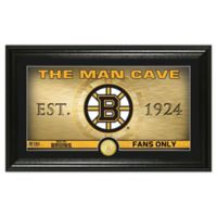 NHL Boston Bruins Man Cave Photo Mint