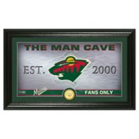 NHL Minnesota Wild Man Cave Photo Mint