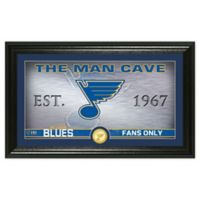 NHL St. Louis Blues Man Cave Photo Mint