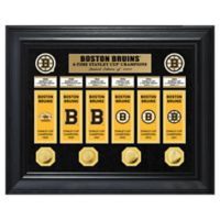 NHL Boston Bruins Deluxe Banner Photo Mint