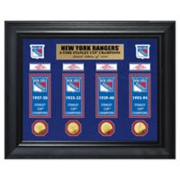 NHL New York Rangers Deluxe Banner Photo Mint