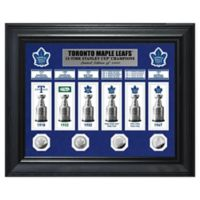 NHL Toronto Maple Leafs Deluxe Banner Photo Mint