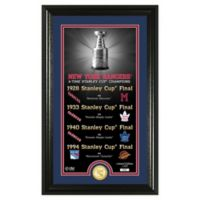 NHL New York Rangers 4-Time Stanley Cup Champions Legacy Coin Photo Mint