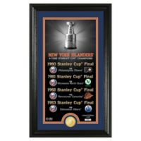 NHL New York Islanders 4-Time Stanley Cup Champions Legacy Coin Photo Mint