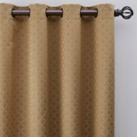 Regency 84-Inch Grommet Window Curtain Panel in Gold