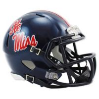 Riddell® University of Mississippi Speed Mini Football Helmet