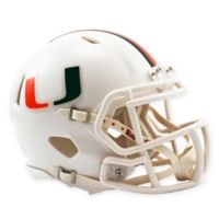 Riddell® University of Miami Speed Mini Football Helmet