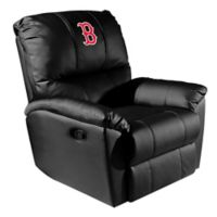 MLB Boston Red Sox Alternate Logo Rocker Recliner