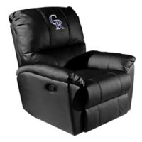 MLB Colorado Rockies Alternate Logo Rocker Recliner
