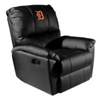MLB Detroit Tigers Orange Logo Rocker Recliner