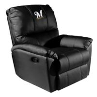 MLB Milwaukee Brewers Alternate Logo Rocker Recliner