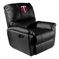 MLB Minnesota Twins Alternate Logo Rocker Recliner
