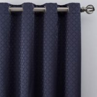 Regency 84-Inch Grommet Window Curtain Panel in Navy