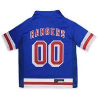 NHL New York Rangers Large Dog Jersey