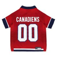 NHL Montreal Canadiens Medium Dog Jersey