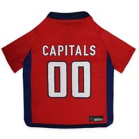 NHL Washington Capitals Extra Small Dog Jersey