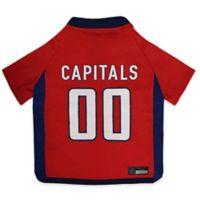 NHL Washington Capitals Medium Dog Jersey