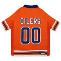 NHL Edmonton Oilers Extra Small Dog Jersey