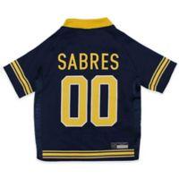 NHL Buffalo Sabres Extra Small Dog Jersey
