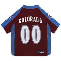 NHL Colorado Avalanche Extra Small Dog Jersey