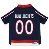 NHL Columbus Blue Jackets Extra Small Dog Jersey