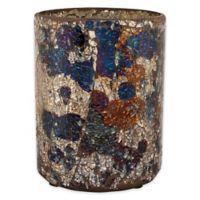 Pfaltzgraff® Crush Mosaic Glass Hurricane Candle Holder