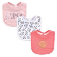 Yoga Sprout® Hello Sunshine Interlock 3-Pack Drooler Bibs