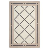 Nourison Deco 1'9 x 2'10 Accent Rug in Ivory/Beige