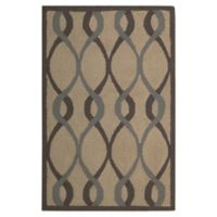 Nourison Deco 2'6 x 3'10 Accent Rug in Taupe