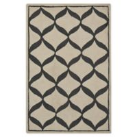 Nourison Deco 2'6 x 3'10 Accent Rug in White/Light Grey