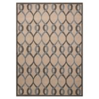 Nourison Deco 5' x 7' Area Rug in Taupe