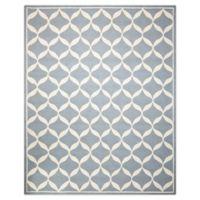 Nourison Deco 8' x 10' Area Rug in Slate/White