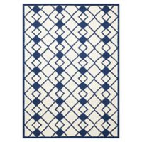 Nourison Deco 8' x 10' Area Rug in Ivory/Navy