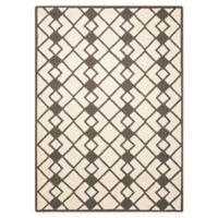 Nourison Deco 8' x 10' Area Rug in Ivory/Grey