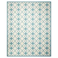Nourison Deco 8' x 10' Area Rug in Ivory/Blue
