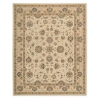 "Nourison™ Heritage Hall Cream 5'6"" X 8'6"" Tufted Area Rug in Cream"