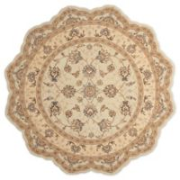 Nourison™ Heritage Hall Cream 6' X 6' Tufted Area Rug in Cream