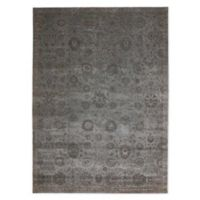 Nourison Luminance Geometric 5'3 x 7'5 Area Rug in Graphite